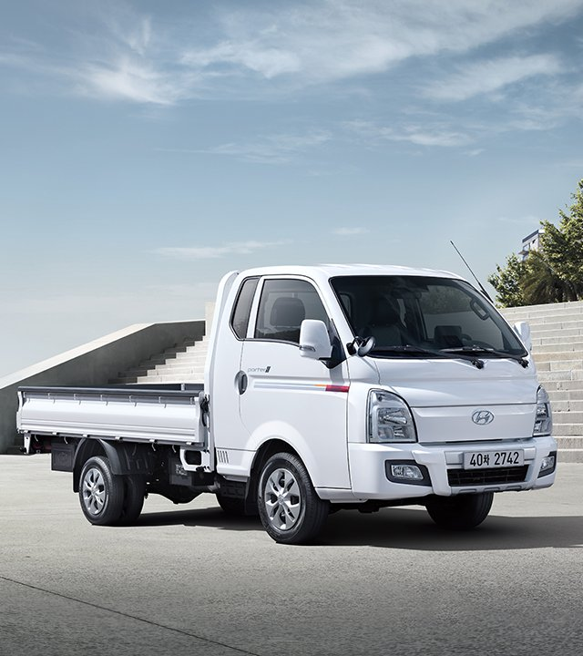모델소개 - PORTER II - 소형상용&택시 - 모델 | 현대자동차