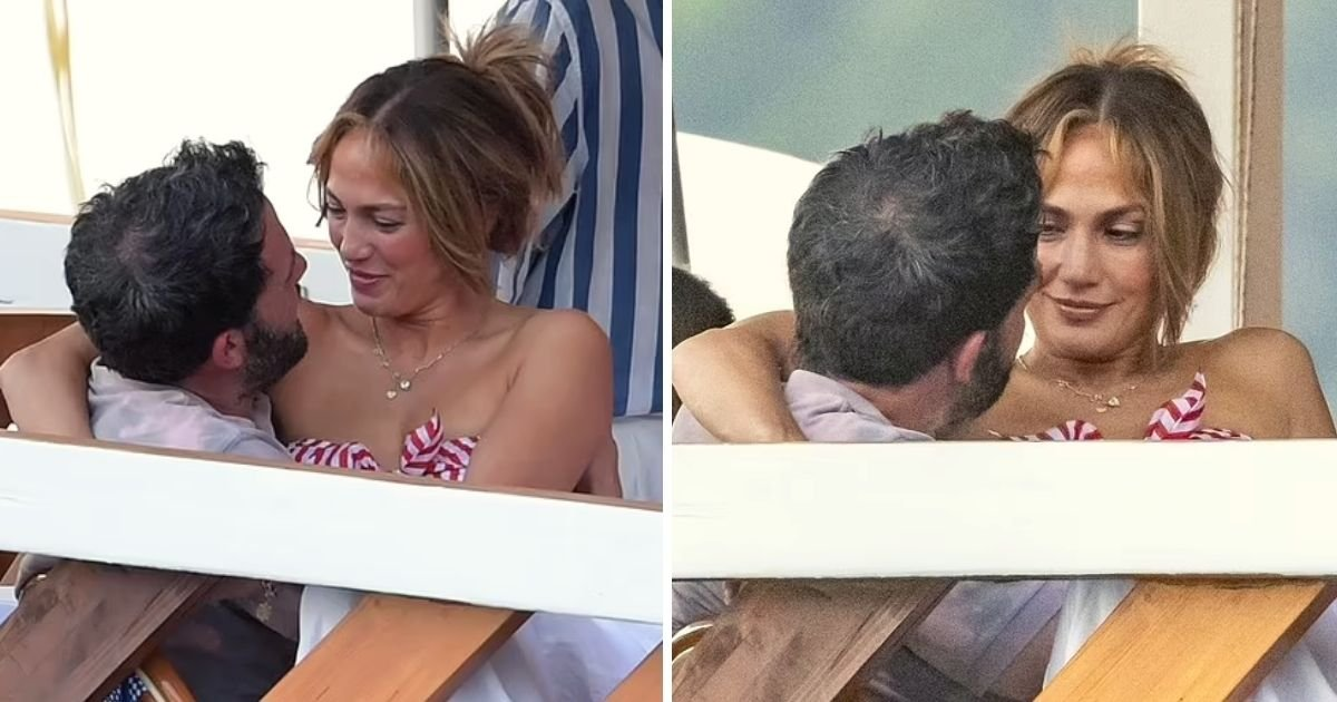 bennifer5.jpg?resize=412,275 - Ben Affleck And Jennifer Lopez Can't Keep Their Hands Off Each Other As They Share Passionate Kisses During Dinner