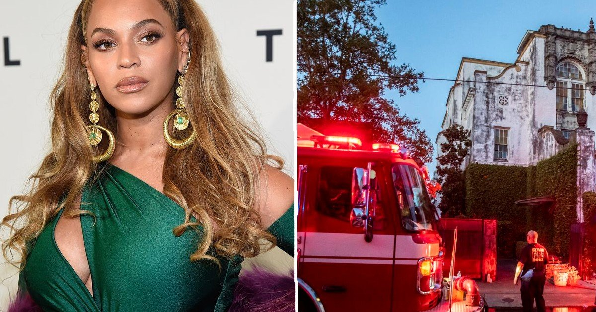 beyonce house fire thumbnail.jpg?resize=412,275 - Beyoncé's Mansion Up In Flames: City Officials Classify As Possible Arson