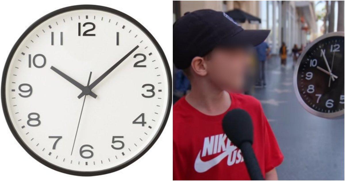 collage 395.png?resize=1200,630 - 요즘 어린이들에게 아날로그 시계를 보여주고 시간을 맞추라니 나온 반응