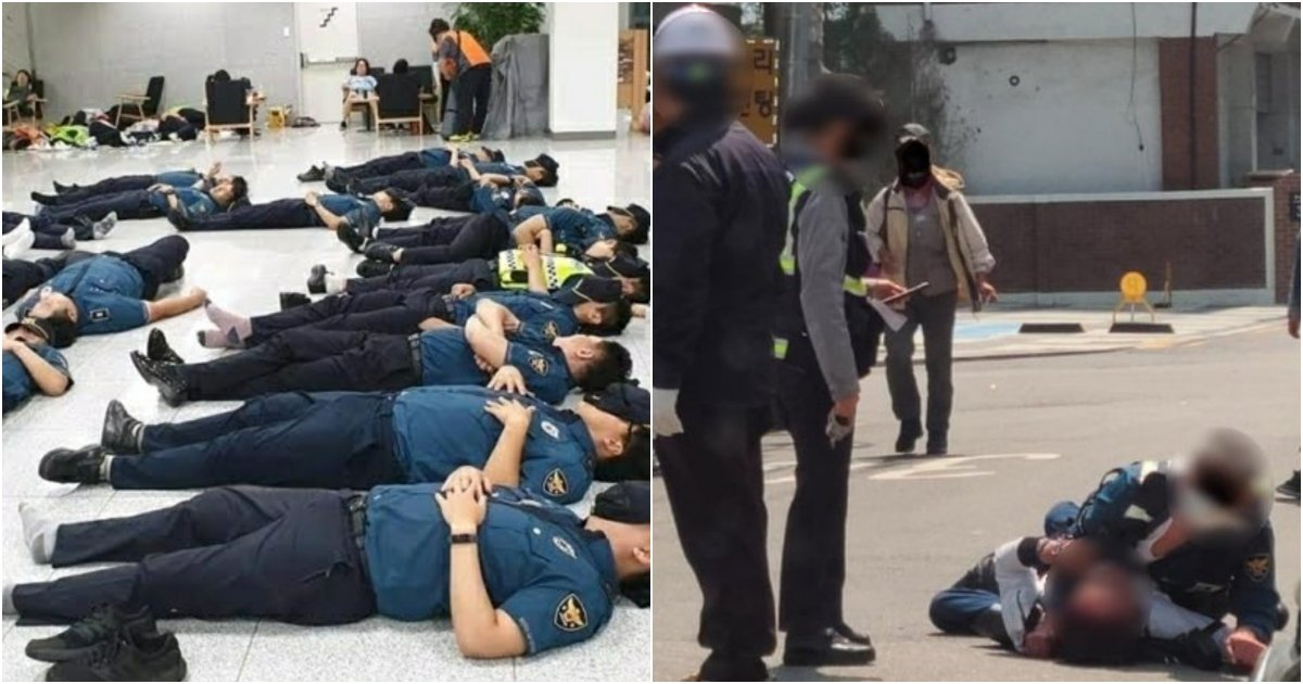"collage 434.png?resize=1200,630 - ""월급 같은데 힘든 일은 왜 남자경찰만 시키냐"" 물음에  남경들 극대노하게 만든 경찰청장이 밝힌 이유"