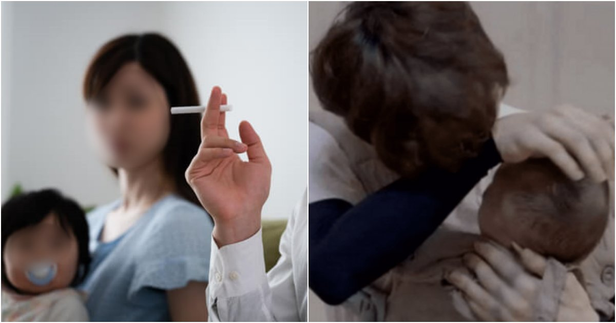 collage 49.png?resize=412,232 - 「子供のためにも吸わないで!」喫煙者の親をもつ1歳の赤ちゃんの体内から検出されたニコチン量