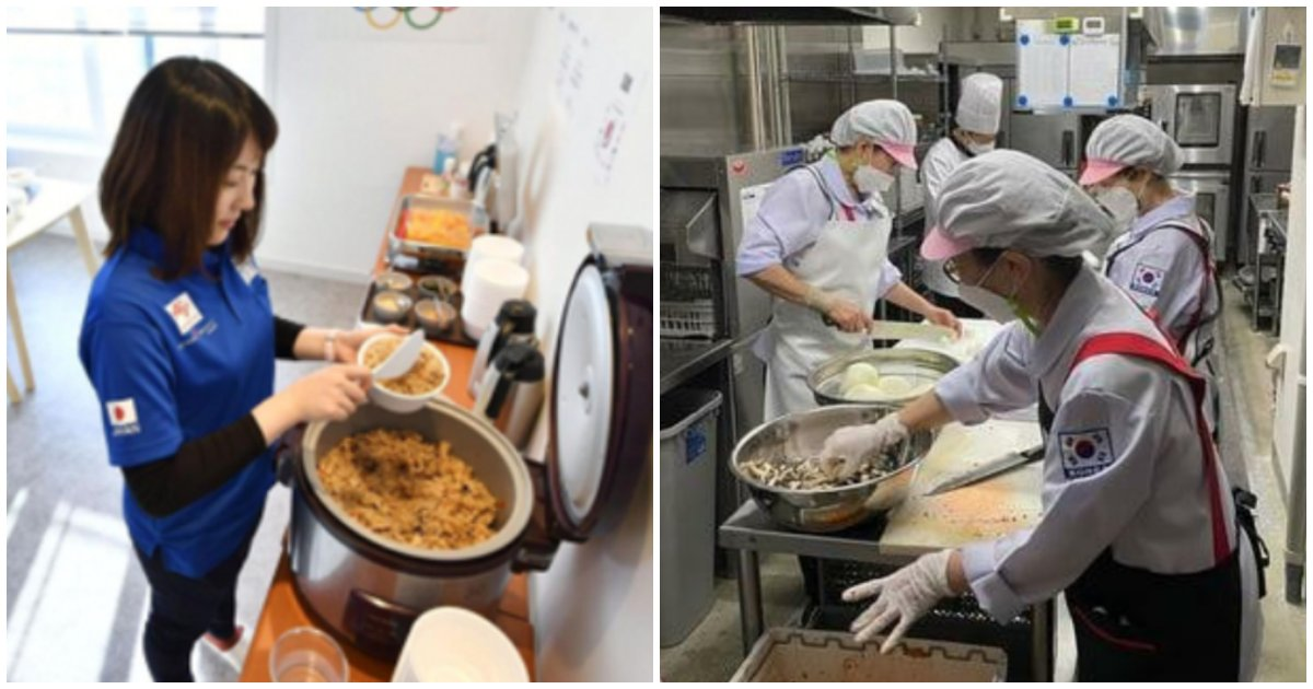 collage 494.png?resize=1200,630 - 곧 개최될 도쿄올림픽 한국 선수들 식단 준비 근황