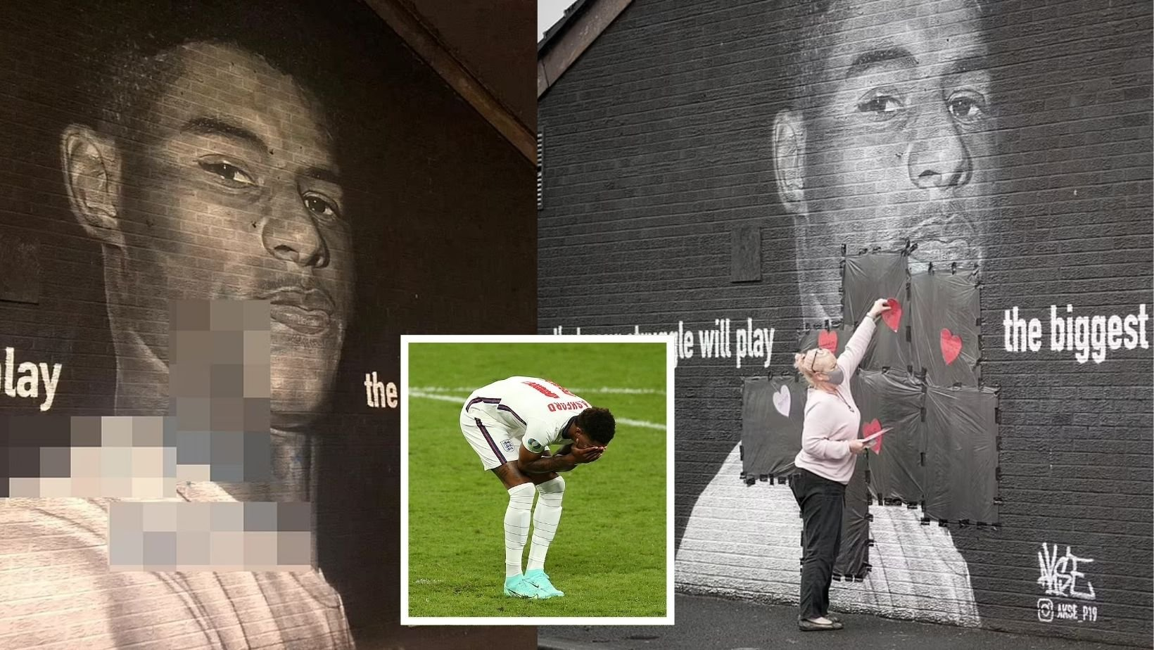 cover 13.jpg?resize=1200,630 - Supporters Cover Marcus Rashford Mural With Hearts & Sincere Messages After It Was Defaced With Graffiti