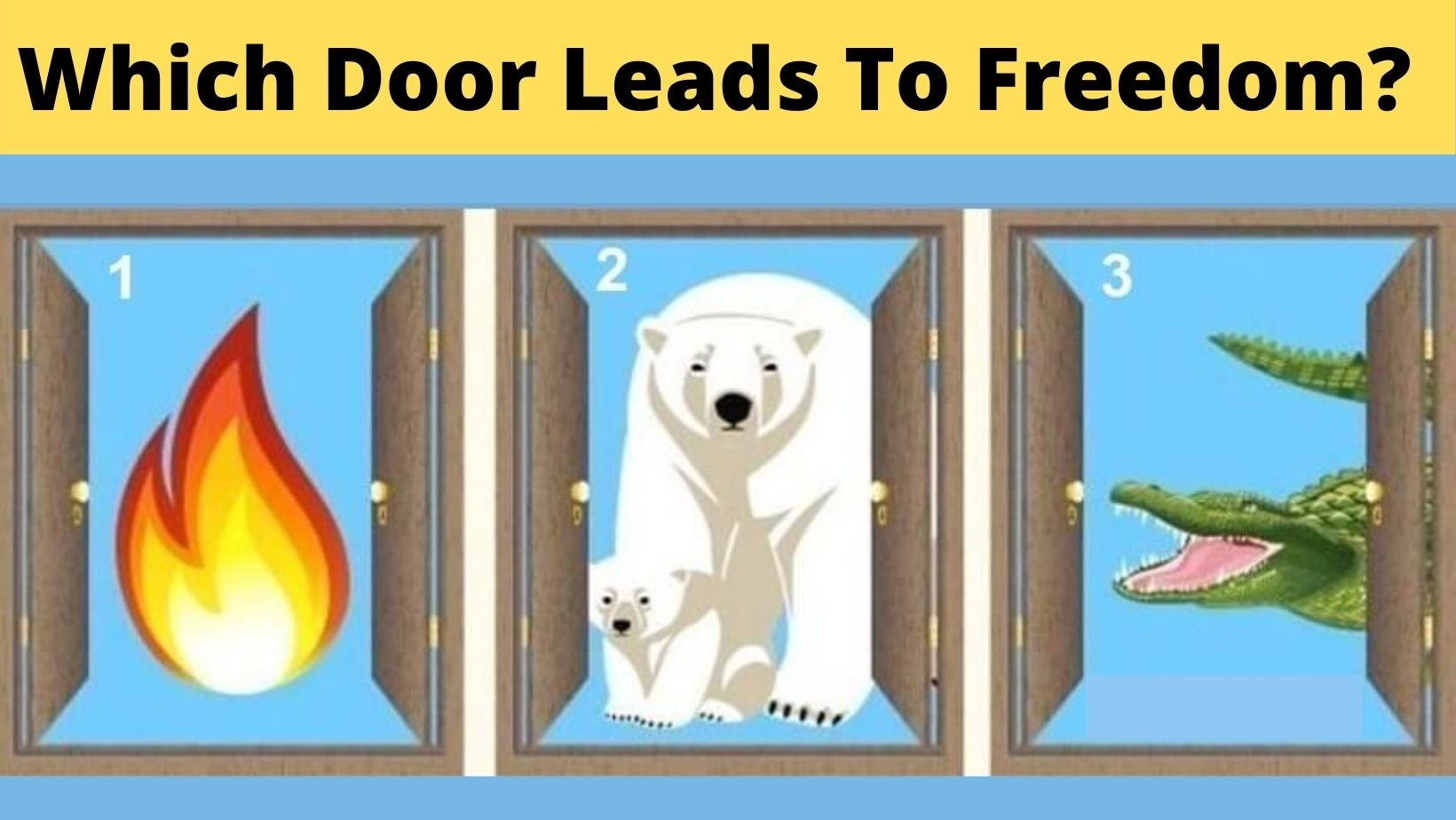 cover 28.jpg?resize=412,275 - Which Door Do You Think Leads To Freedom?