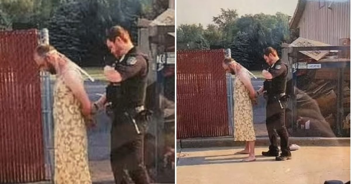 dress5.jpg?resize=412,232 - 39-Year-Old Man In Yellow Summer Dress Arrested After Being Released From Hospital