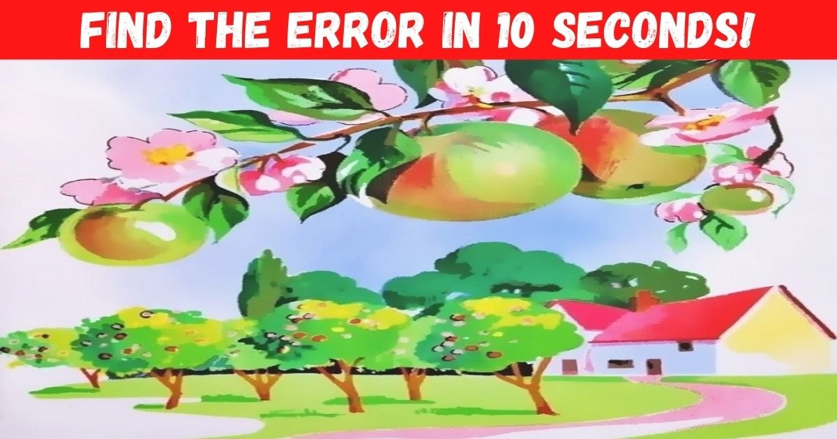 find the error in 10 seconds.jpg?resize=1200,630 - Can You Spot The Mistake In This Vintage Graphic? Take A Closer Look And You Shall Succeed!