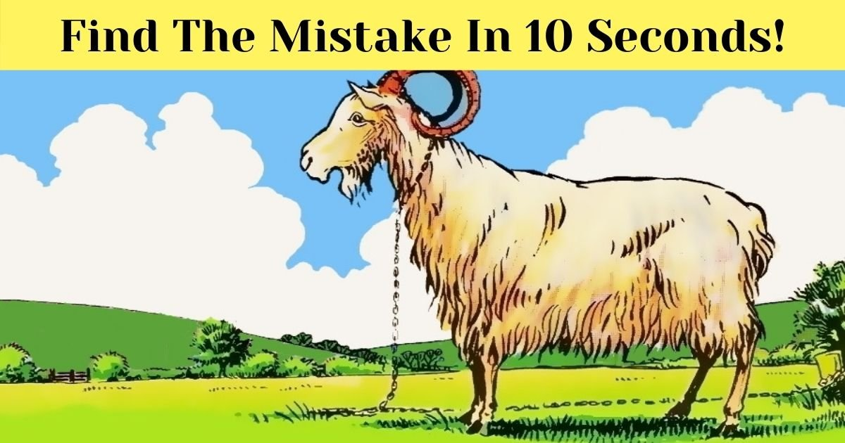 find the mistake in 10 seconds 4.jpg?resize=412,232 - 90% Of Viewers Couldn't See The Mistake Here! But Can You?