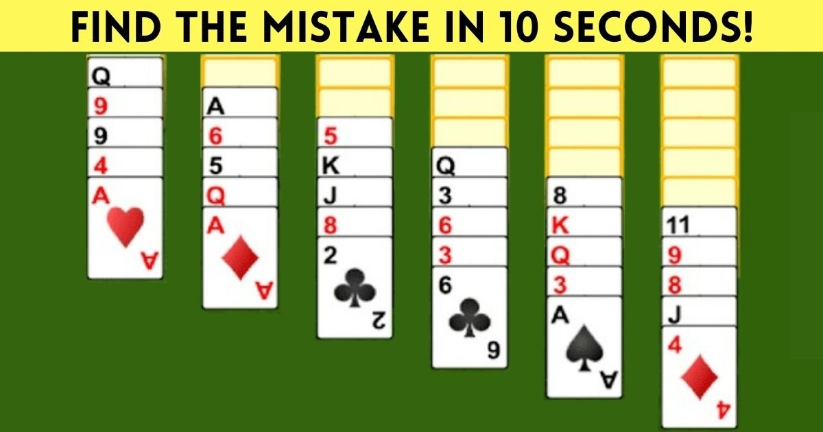 find the mistake in 10 seconds 8.jpg?resize=412,232 - Can You Find Out What's Wrong With This Picture? 95% Of Viewers Will Fail!