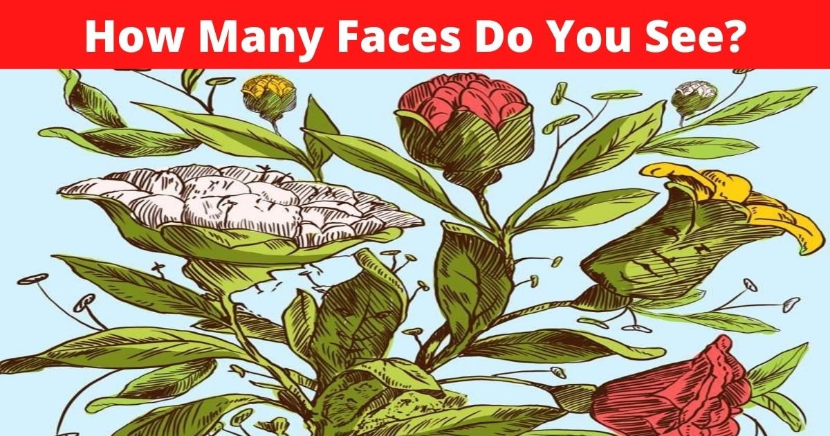how many faces do you see.jpg?resize=1200,630 - How Many Faces Are Hiding In This Optical Illusion? Most People Can't Find Them All!