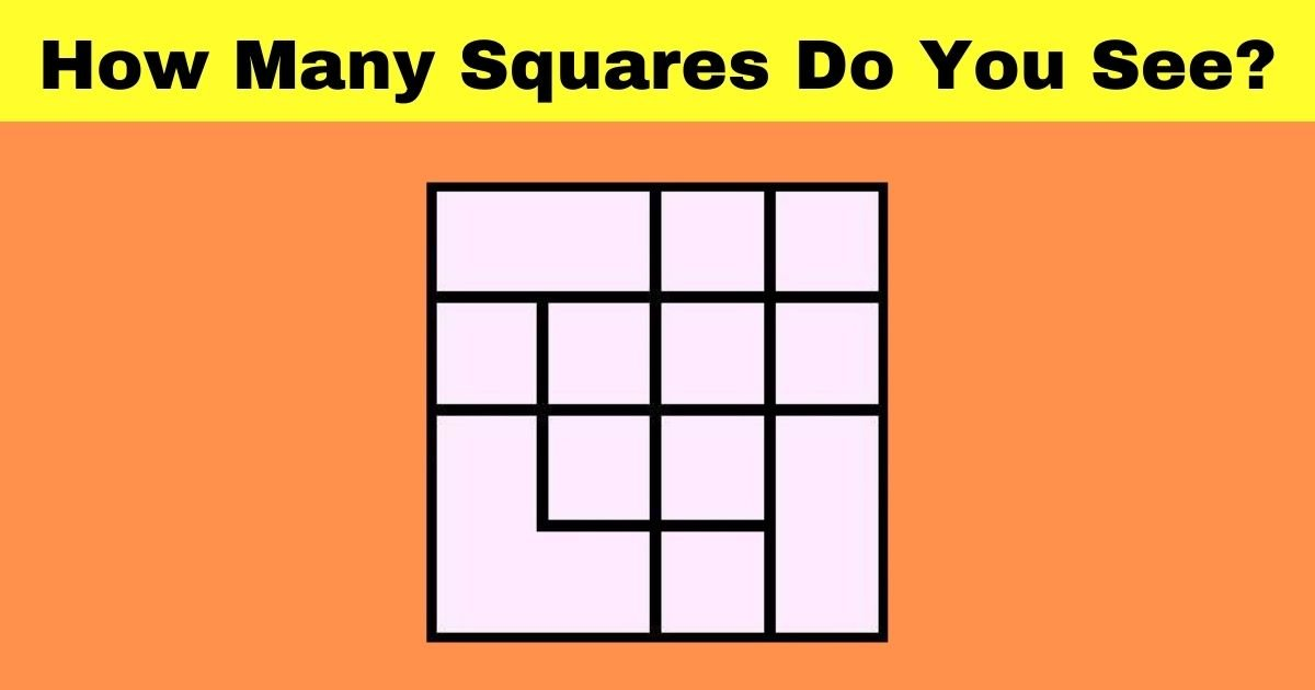 how many squares do you see.jpg?resize=1200,630 - 90% Of People Couldn't Count All The Squares In This Picture! But Can You?