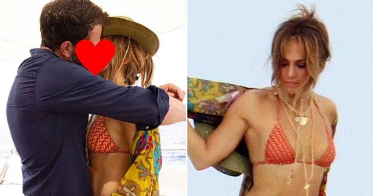 jlo6.jpg?resize=412,232 - Ben Affleck Rubs Jennifer Lopez's Backside As They Recreate Scenes From 2002 Video Jenny From The Block