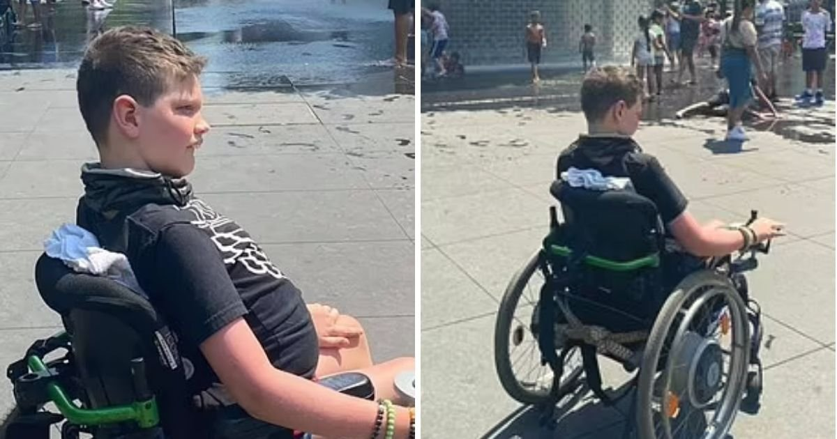 park5 1.jpg?resize=1200,630 - 10-Year-Old Boy With Disability Is Asked To Leave Park Because His Wheelchair 'Could Hurt' Other Children
