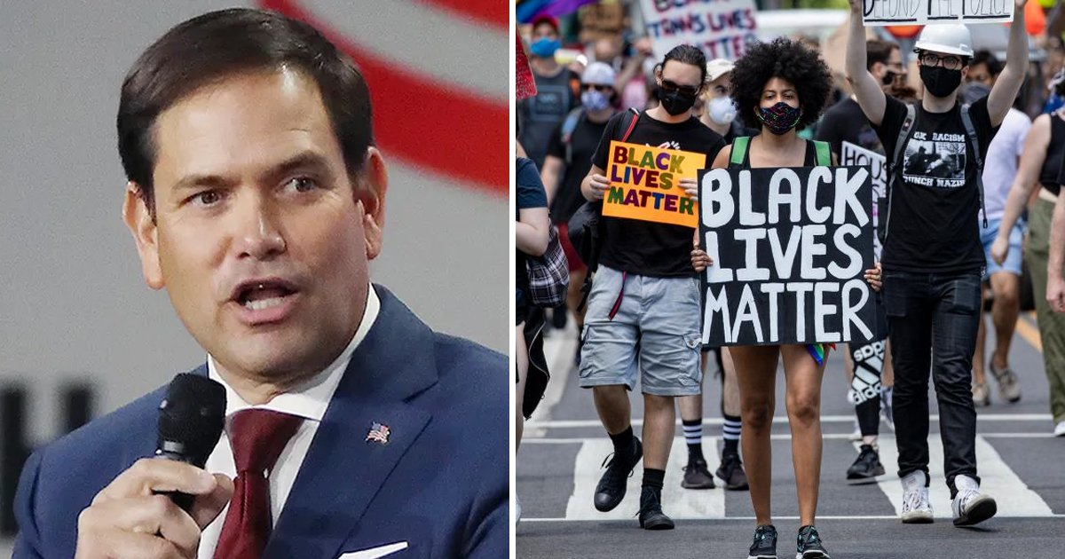 q1 42.jpg?resize=412,232 - Rep. Marco Rubio Offers Help To Shift BLM Activists To Cuba After They Blamed US For Cuban Unrest