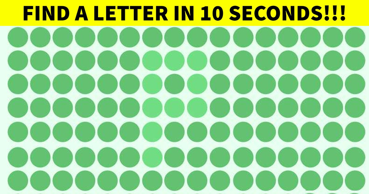 q4 44.jpg?resize=1200,630 - How Quick Can You Spot A Letter Made Of Dots?