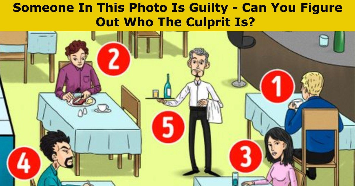 quiz culprit thumbnail.jpg?resize=1200,630 - Someone In This Photo Is Guilty - Can You Figure Out Who The Culprit Is?