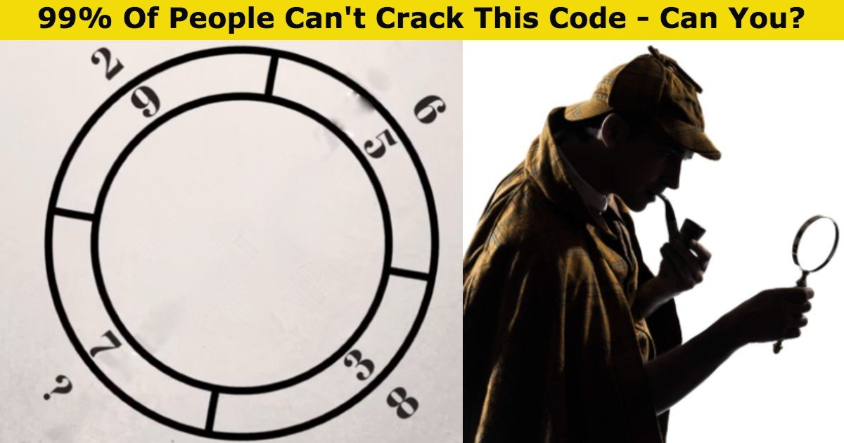 quiz1 thumbnail 2.jpg?resize=412,232 - 99% Of People Can't Crack This Code – Can You Figure Out The Missing Number?