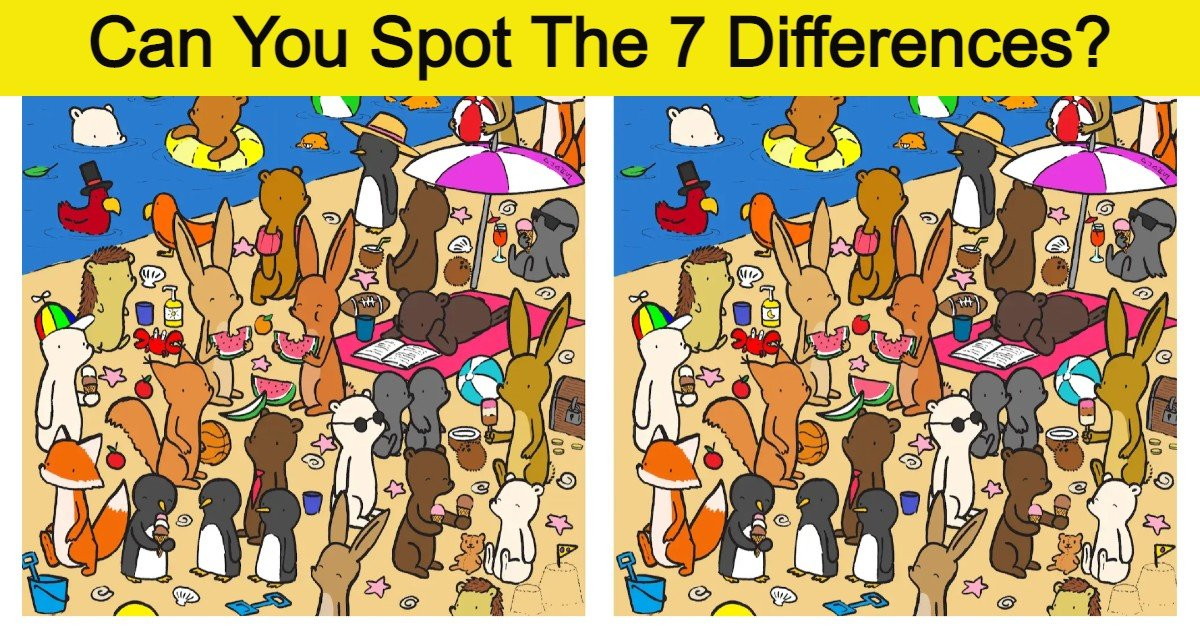 quiz2 thumbnail 1.jpg?resize=412,275 - Most People Can't Spot The 7 Differences In This Artist's Images!
