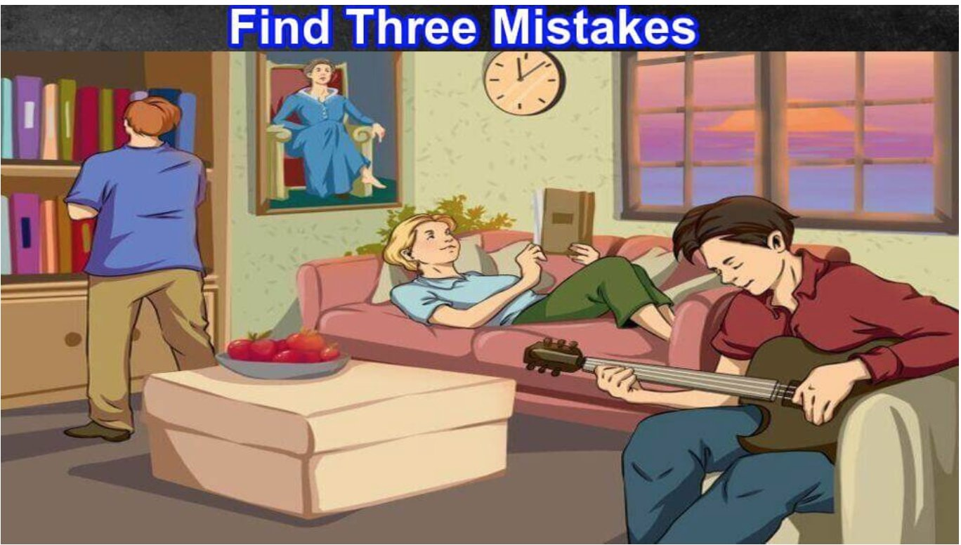 quiz2 thumbnail 1.png?resize=412,232 - Difficult Level Puzzle! Can You Find The Three Mistakes In This Photo?