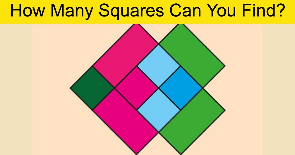 quiz2 thumbnail 2.jpg?resize=1200,630 - How Many Squares Do You See In This Image?