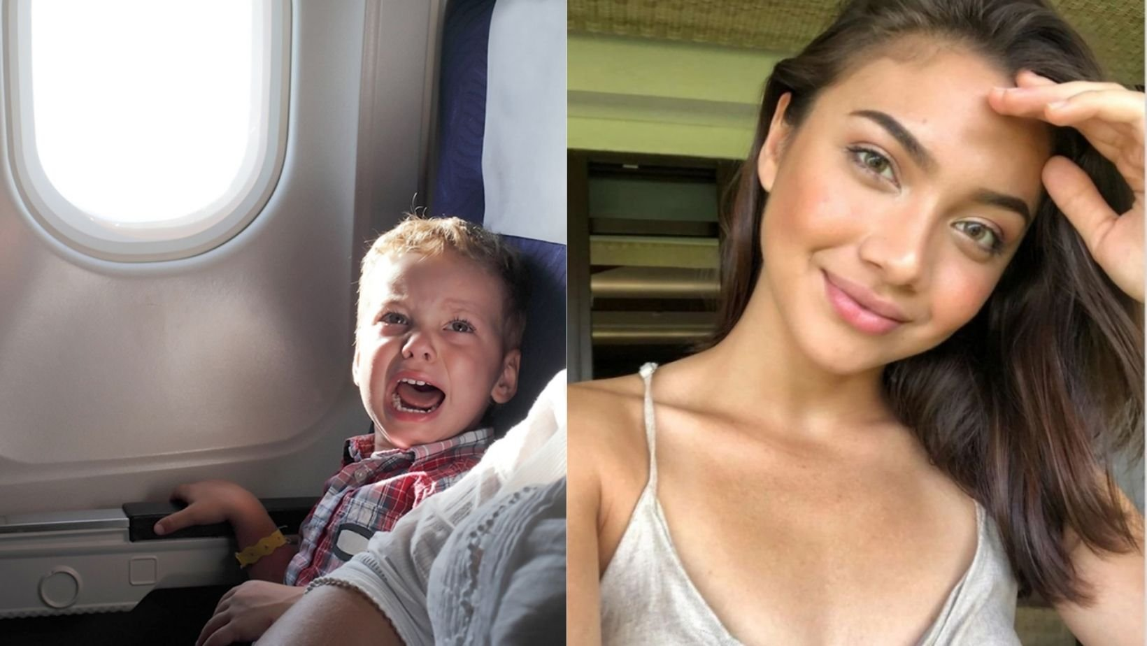 small joys thumbnail 2 7.jpg?resize=1200,630 - Model Is Lambasted Online After Complaining About Sitting Next To A Crying Baby During A Flight