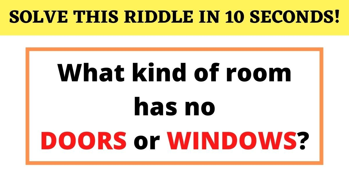 solve this riddle in 10 seconds.jpg?resize=1200,630 - How Fast Can You Crack This Riddle? 90% Of People Failed To Answer Correctly!
