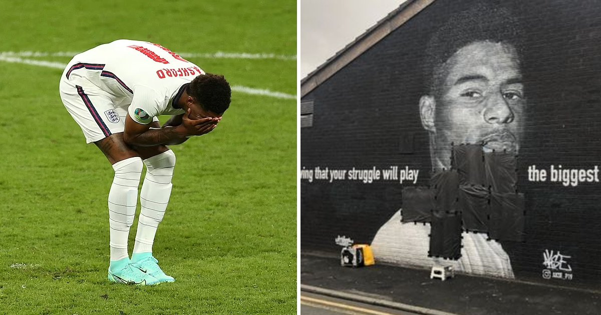 t1 62.jpg?resize=1200,630 - Marcus Rashford's Mural DEFACED Minutes After Missing Penalty In Euro Cup Final