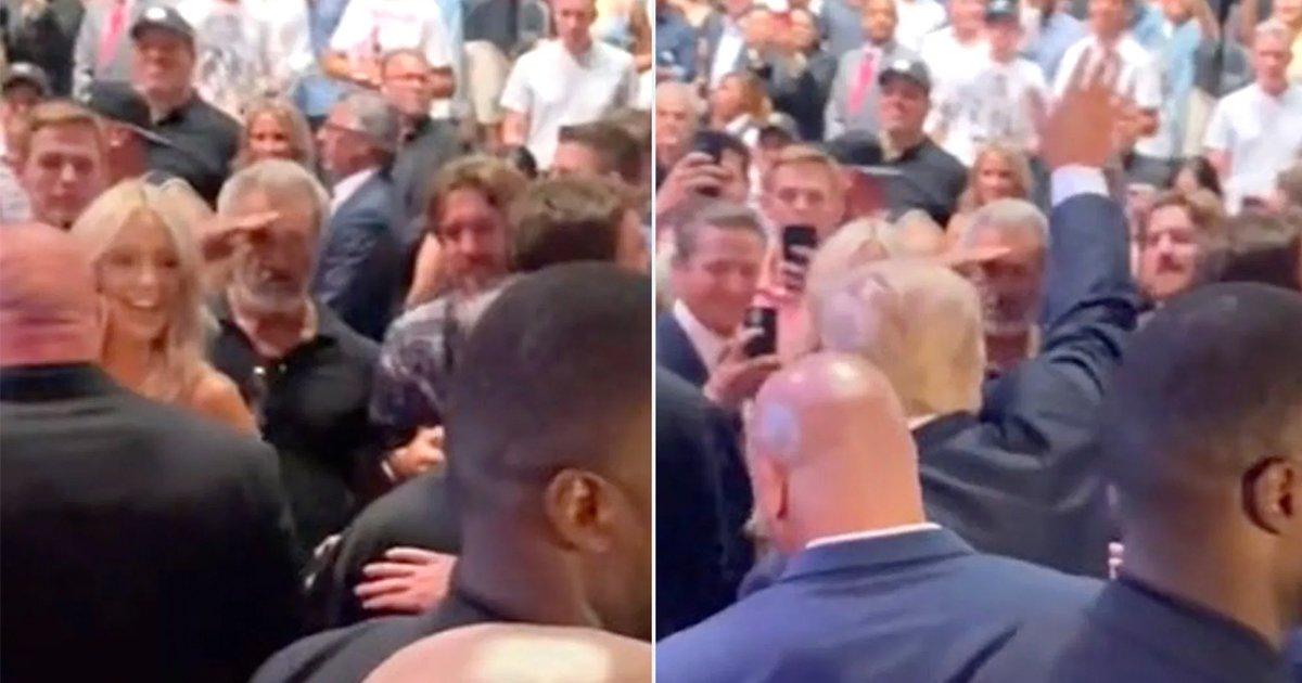 "t1 64.jpg?resize=1200,630 - ""Nazis Salute Other Nazis""- Liberals SLAM Mel Gibson For SALUTING Trump At UFC Match"