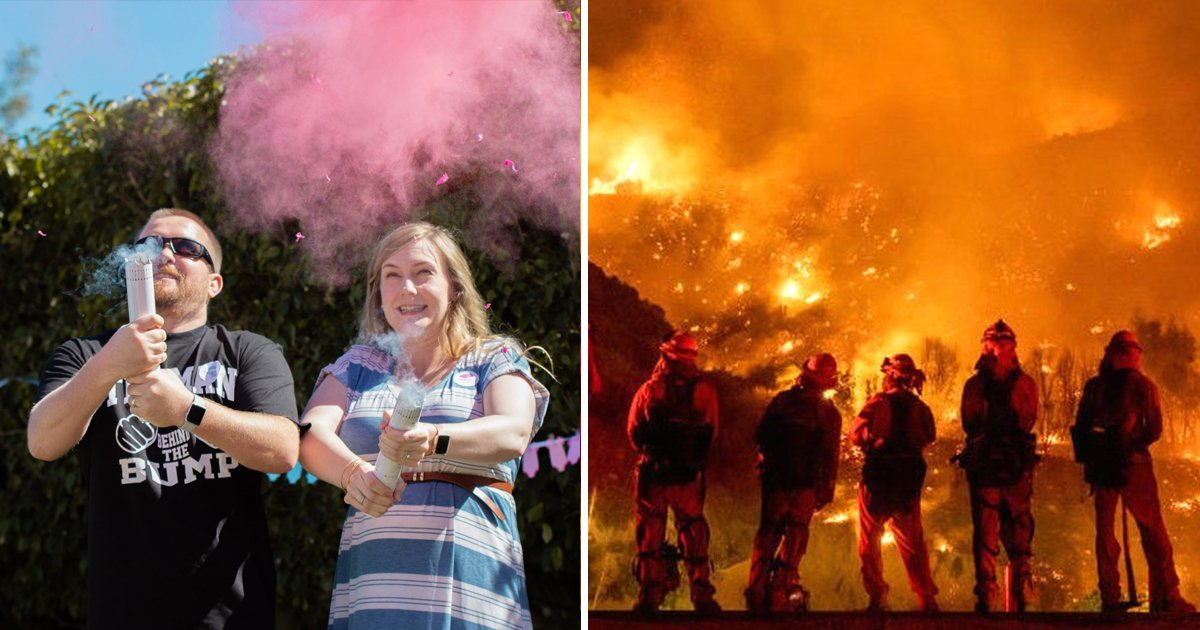 t1 69.jpg?resize=1200,630 - Couple Whose Gender Reveal Party Sparked Massive California Wildfire Face Jail