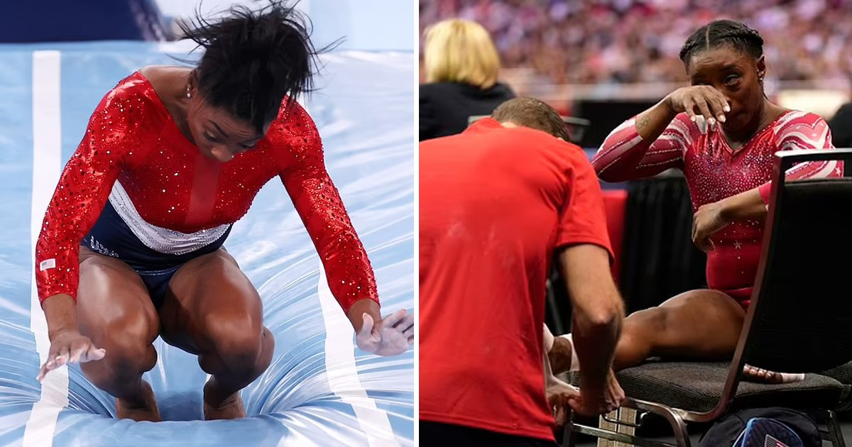 t1 72.jpg?resize=1200,630 - Heartbreak For Team USA As Superstar Gymnast Simone Biles PULLED OUT Of Olympic Final