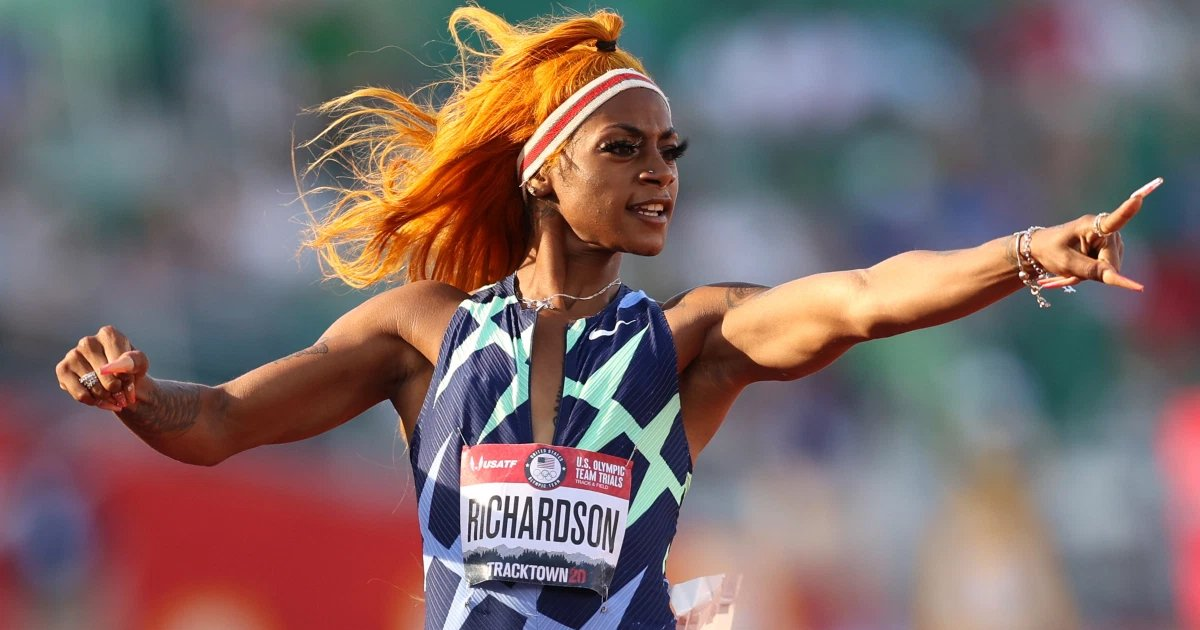 t3 57.jpg?resize=412,232 - Sha'Carri Richardson OFFICIALLY OUT Of Tokyo Olympics After Being Left Off US Squad