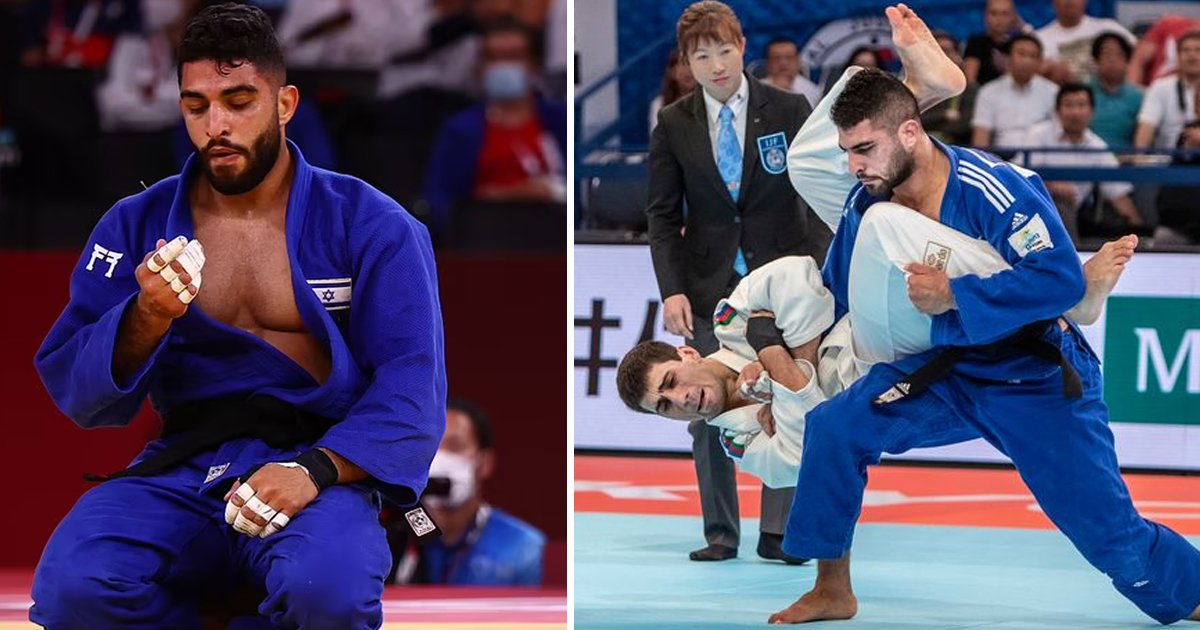 t3 71.jpg?resize=1200,630 - SECOND Olympian 'Withdraws' From Tokyo Olympics To Avoid Facing Israeli Opponent