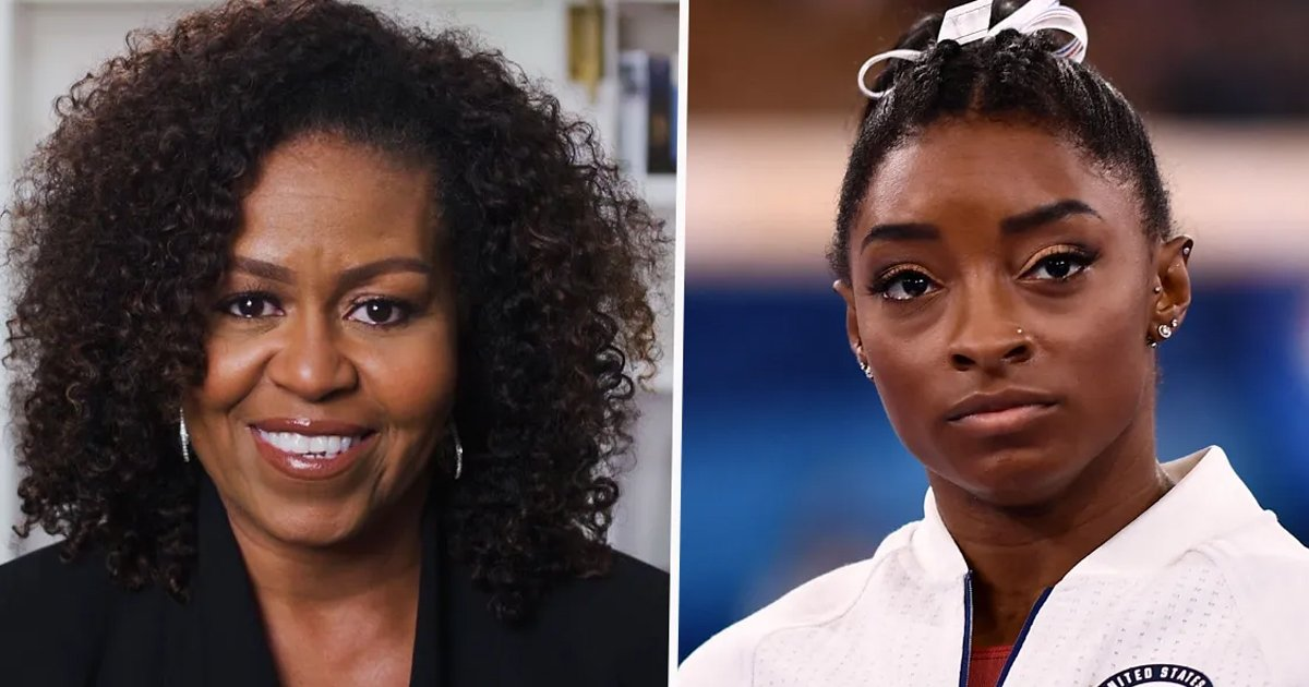 """t3 73.jpg?resize=1200,630 - """"Yes You're Good Enough, We Support You""""- Michelle Obama Sends Sweet Message To Simone Biles"""