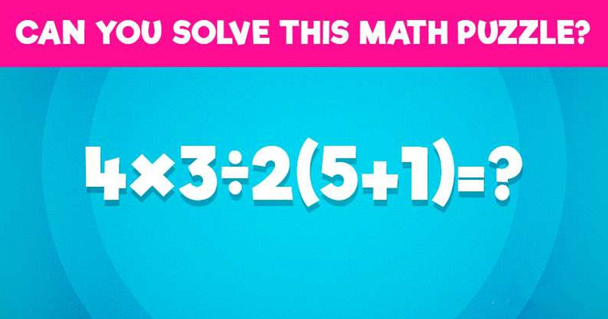 t4 66.jpg?resize=1200,630 - Can You Train Your Brain To Figure Out The Answer To This Tricky Math Sum?