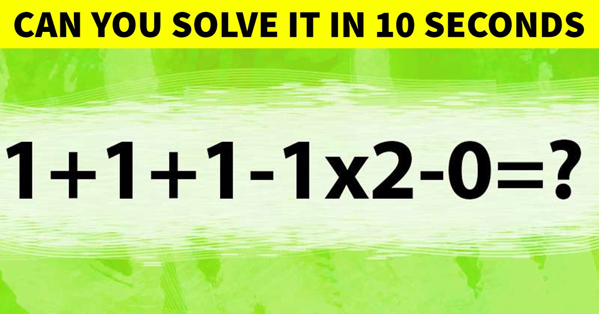 t4 69.jpg?resize=1200,630 - This Tricky Math Problem Is Stumping The Internet! Can You Answer It?
