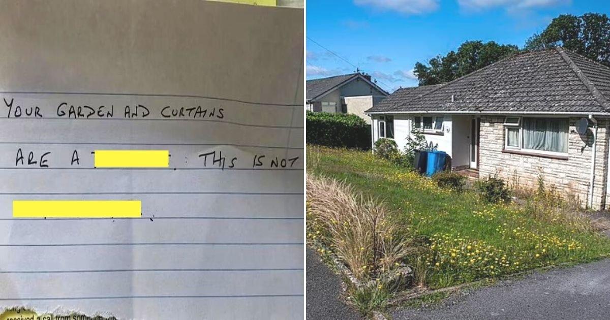 untitled design 9 4.jpg?resize=1200,630 - Nurse Left In Tears After Neighbor Mocks Her Home In A Nasty Note
