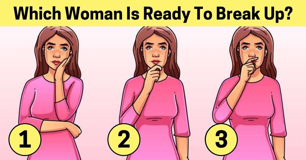 which woman is ready to break up.jpg?resize=1200,630 - 90% Of Viewers Couldn't Figure Out Which Of These Women Is Planning To Break Up! But Can You?