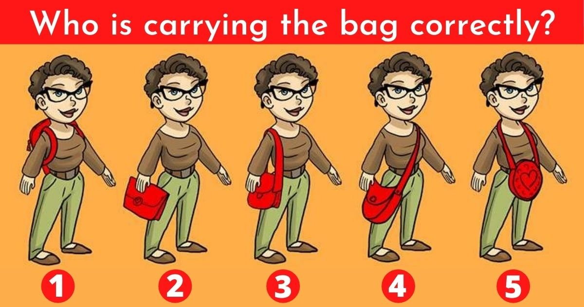 who is holding the bag correctly 1.jpg?resize=1200,630 - Which Of These Women Is Carrying The Bag Correctly?