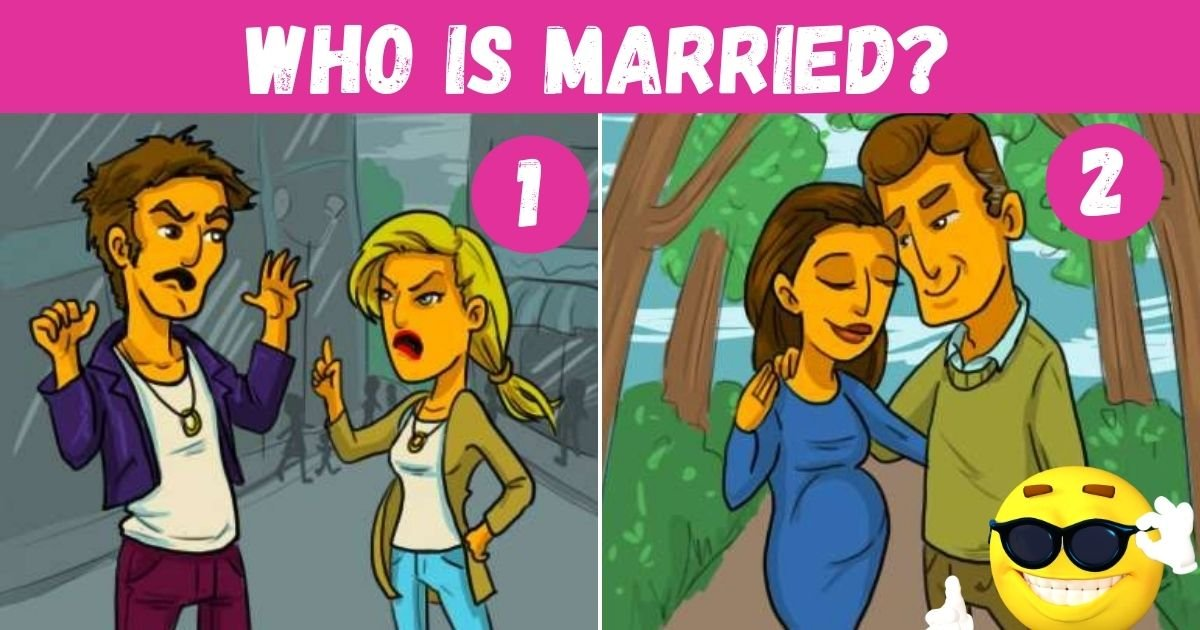 who is married.jpg?resize=1200,630 - Can You Figure Out Which Of These Couples Is Married? Think Twice Before Answering!