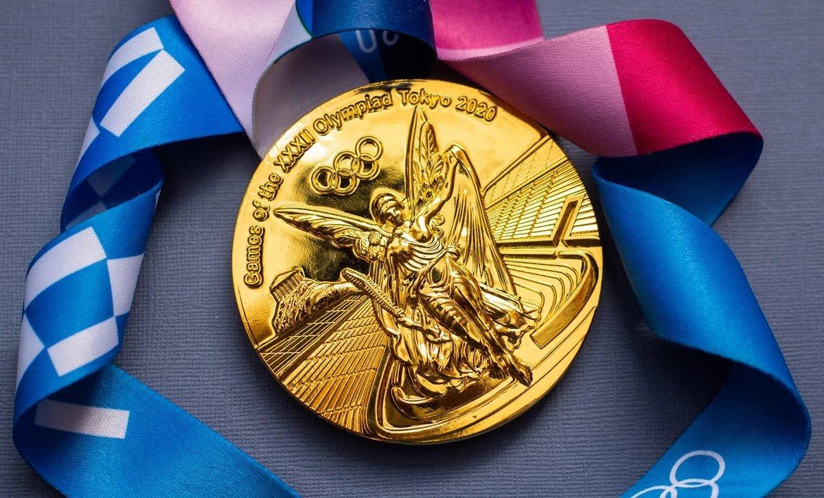 도쿄올림픽 금메달. /셔터스톡