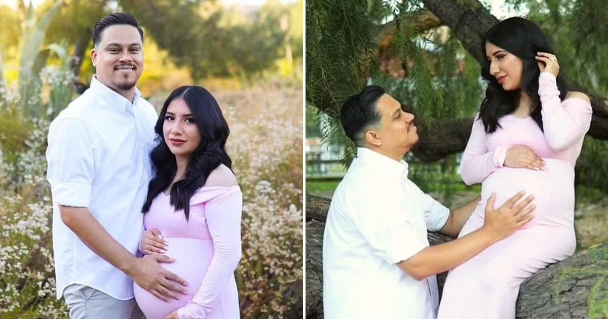 adelyn9.jpg?resize=1200,630 - Man Whose Pregnant Wife Tragically Died In An Accident Recreates Maternity Photoshoot With Their Baby