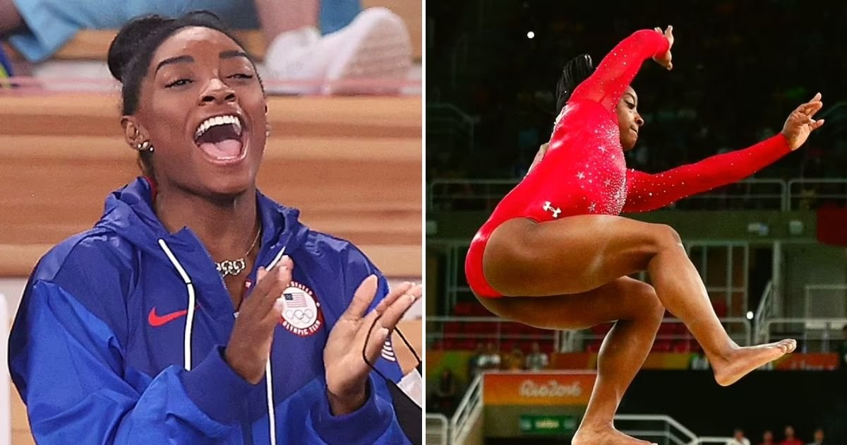 biles5.jpg?resize=412,232 - Olympic Gymnast Simone Biles Set To RETURN For Olympic Gold As She Announces She Will Compete In Balance Beam Final