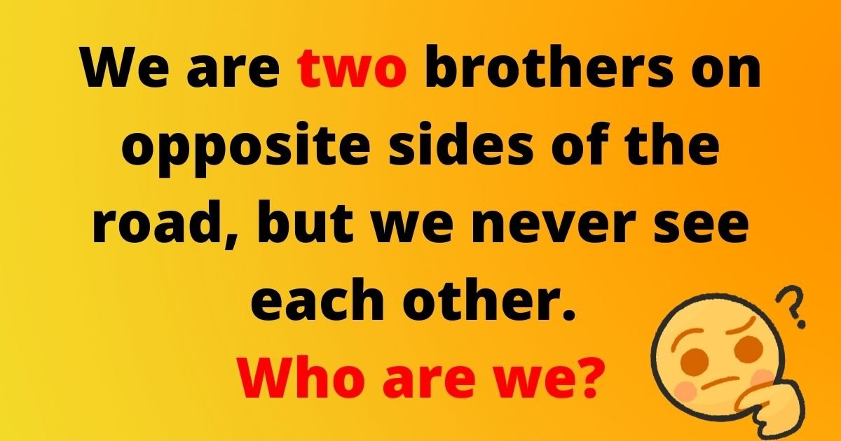 brothers1.jpg?resize=412,232 - Brain Test: Only 10% Of Viewers Can Solve All FIVE Riddles! Can You Correctly Guess The Answers?