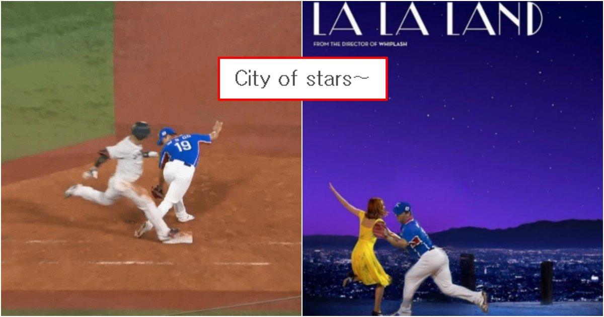 collage 130.png?resize=1200,630 - 어제자 야구 한일전에서 하라는 야구는 안하고 행위예술해서 욕이란 욕 다 먹고 있는 선수 (영상)