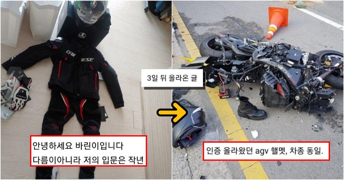 collage 172.png?resize=412,232 - 부모님이 오토바이 사준대서 기종 추천해달라고 했던 바린이의 최후 (피 사진 제거)