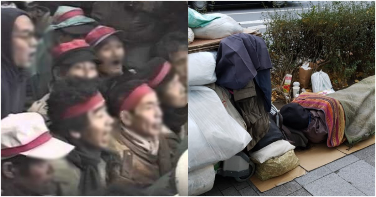 "collage 59.png?resize=412,232 - 현재 일본 정부, 노숙인에게 ""스스로 제발 숨어있길 바란다"" 라 말한 충격적인 이유"