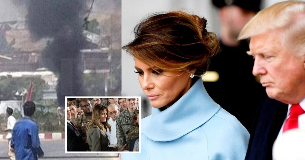 cover 14.jpg?resize=1200,630 - Melania & Donald Trump Shared Their Heartfelt Condolences For The 13 US Troops Killed By Explosions At Kabul Airport
