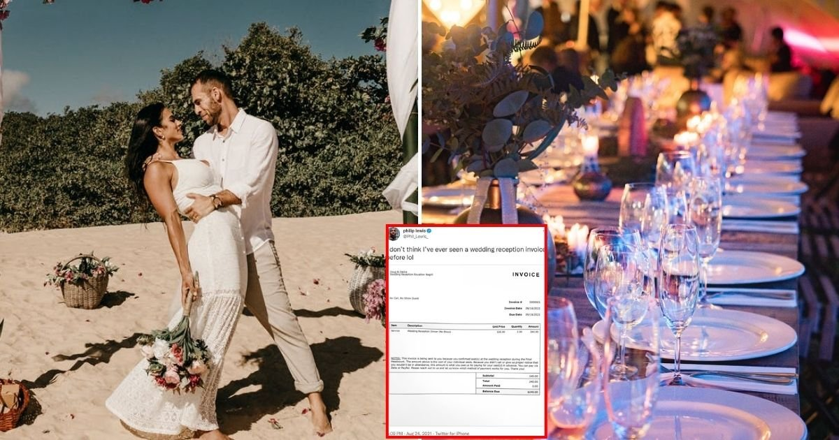 invoice6.jpg?resize=412,232 - Newlywed Couple Sends $240 Invoice To Guests Who Failed To Show Up At Their Wedding After RSVPing 'Yes'