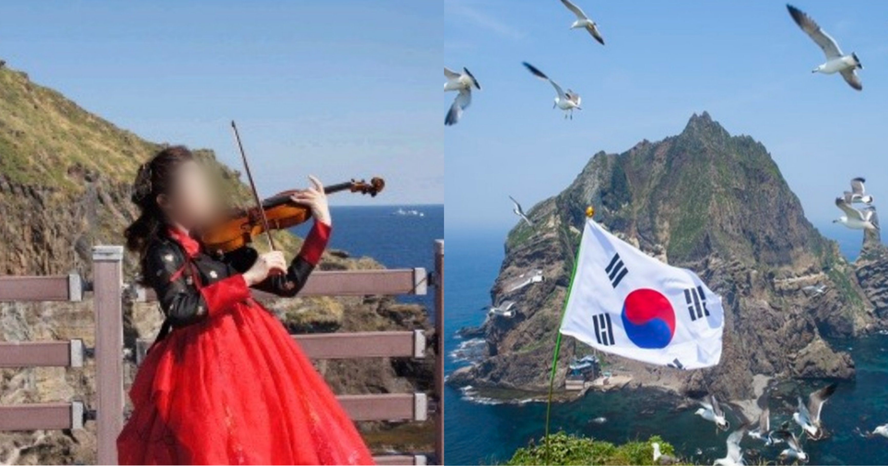 """kakaotalk 20210827 173249134.jpg?resize=1200,630 - """"한국의 문화를 알리고자..."""" 일본 눈치 안보고 독도에서 '아리랑 연주'한 한국인"""