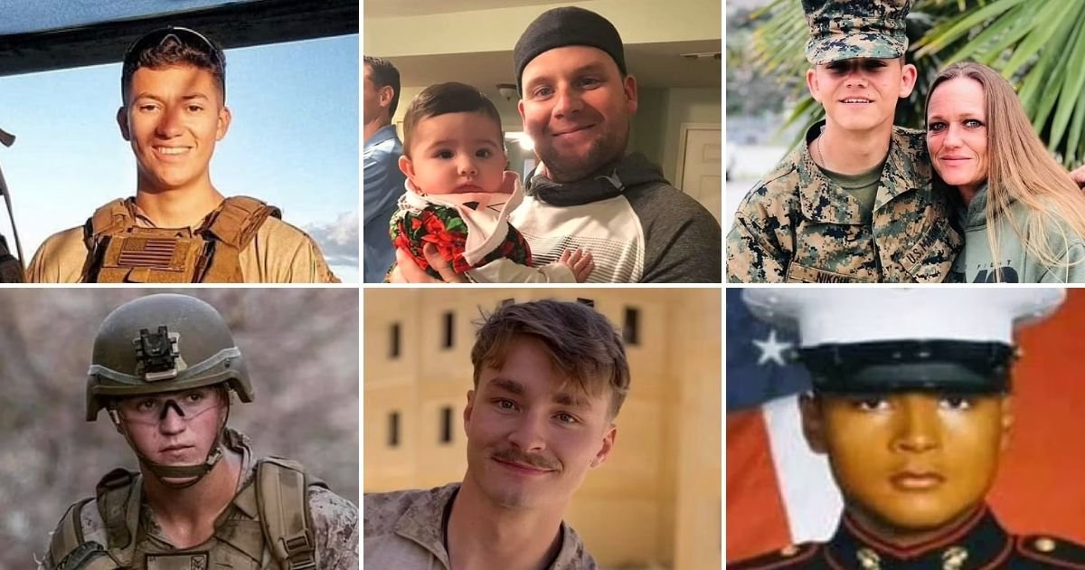 marines2.jpg?resize=1200,630 - Fathers Of Marines Killed In Kabul Blame President Biden For Deaths Of 13 US Troops And 170 Others